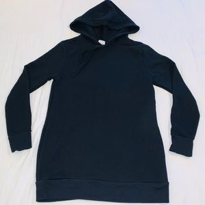 A NEW DAY Women's Black Long Hoodie Tunic